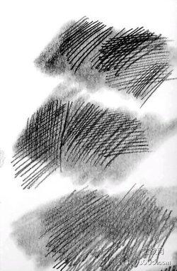 手绘高清图眉毛排线