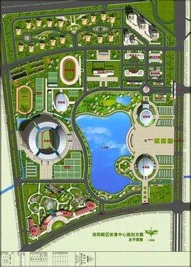 运动公园设计平面图