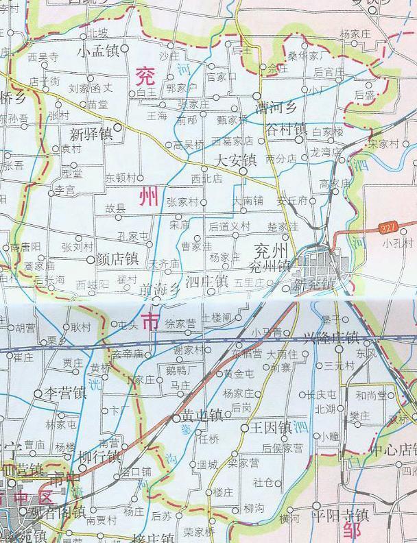 兖州飞机场规划图