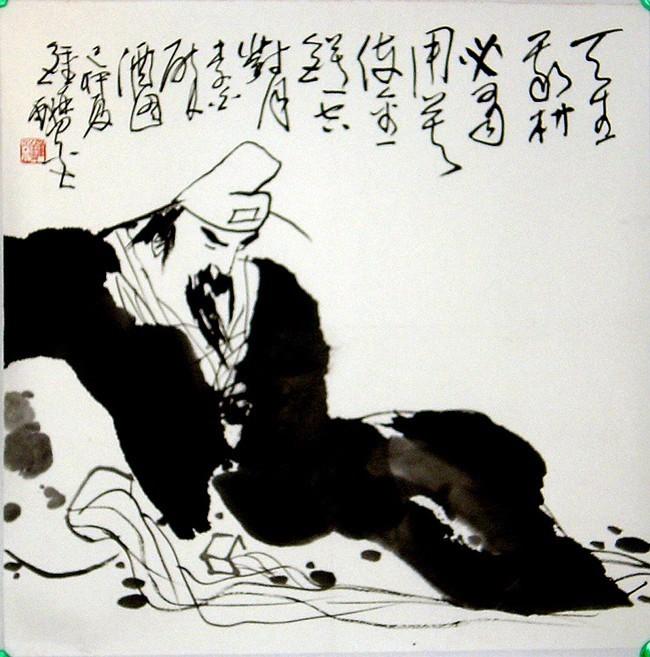李白手绘发报机电路图