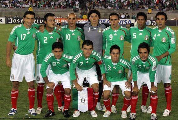 墨西哥国家男子足球队