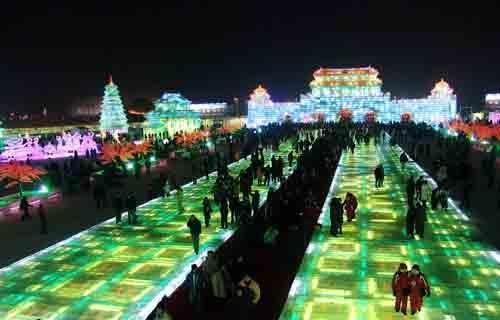 哈尔滨国际冰雪节