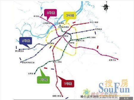 哈尔滨地铁2号线