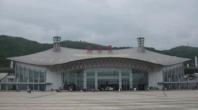 张家界新火车站:张家界新火车站于2008年开通运营