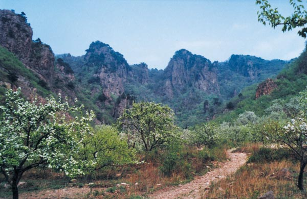 八会通明山风景区位于辽阳县东部山区八会镇,距离县政府所在地33公里.