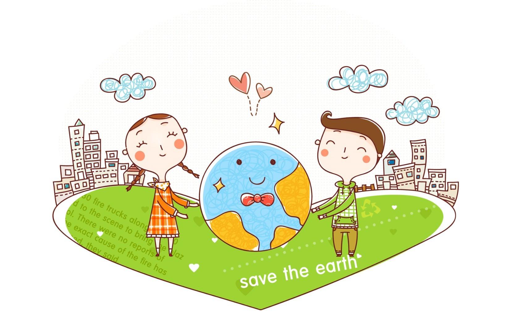 国外幼儿园地球主题布置