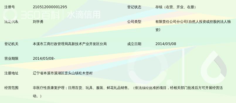 沈阳盛京医院管理咨询有限公司本溪分公司_3