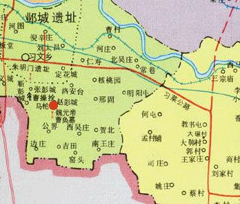 冀州市乡镇地图