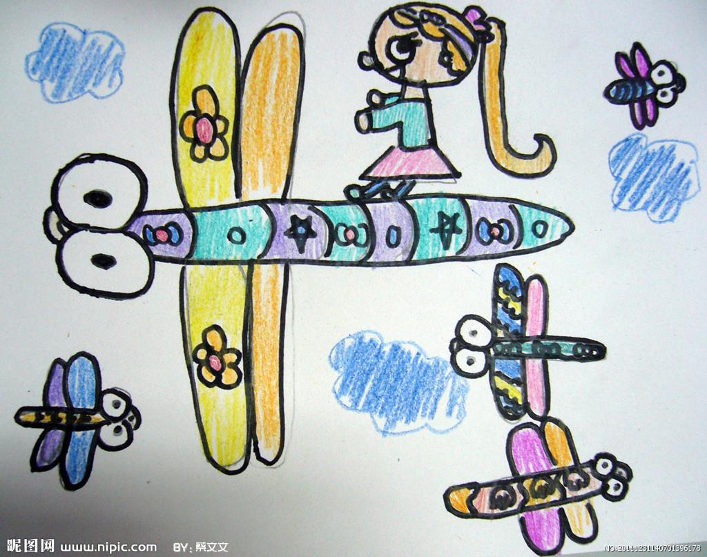 儿童美术图库大全:儿童画图片