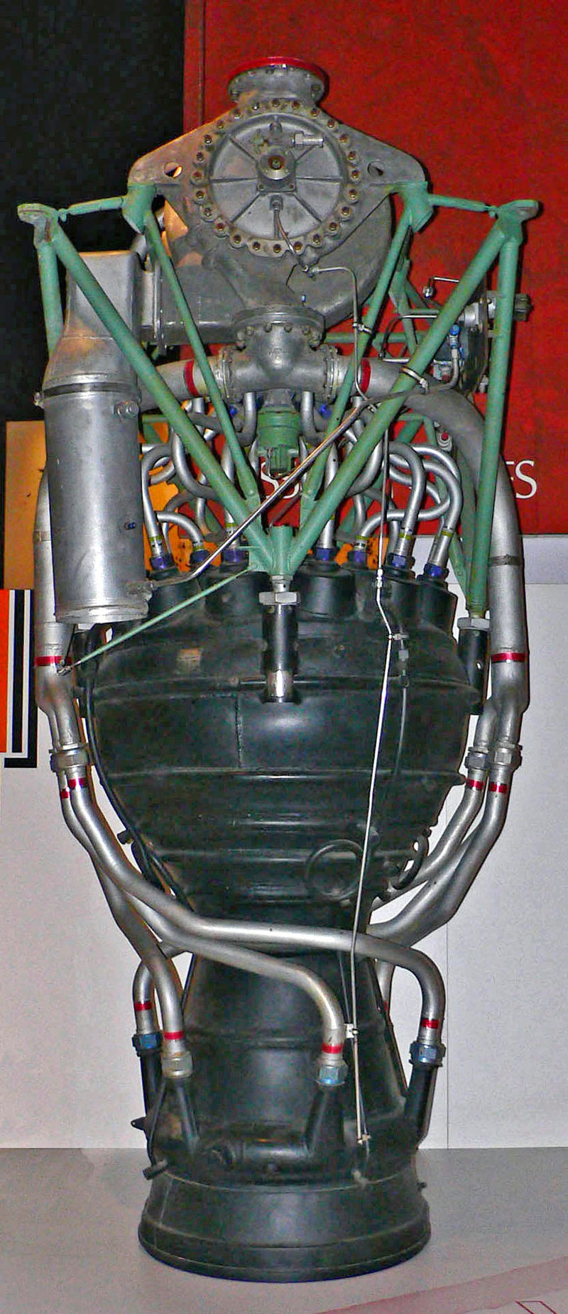 v-2火箭发动机结构