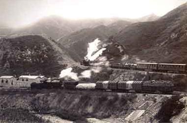 京张铁路为詹天佑主持修建并负责的中国第一条铁路,它连接北京丰台区图片