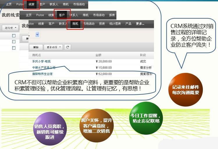 crm设计模板