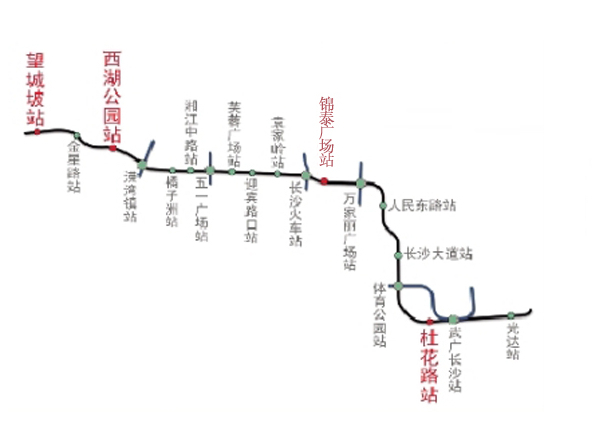 上海市轻轨地图