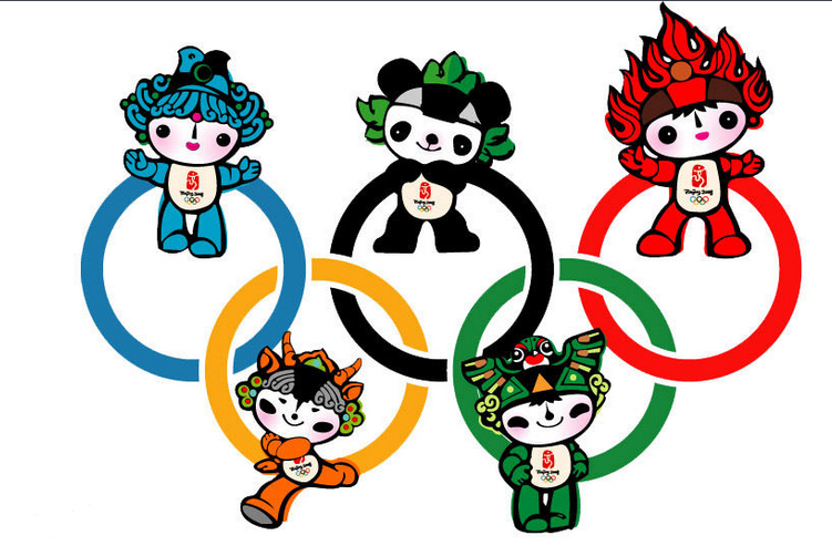 奥运漫画矢量图
