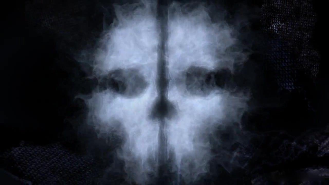 黑底可爱幽灵壁纸